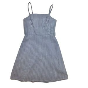 Kimchi Blue A-Line Striped Dress- XS